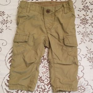LIKE NEW Baby Gap olive green cargo pant